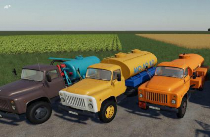 Trending mods today: FS19 GAZ 53 Modul Pack v1.1.3
