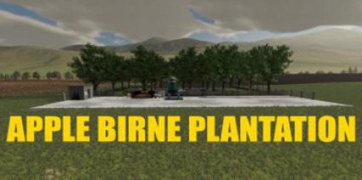 Trending mods today: FS19 Apple Birne Plantation v1.0