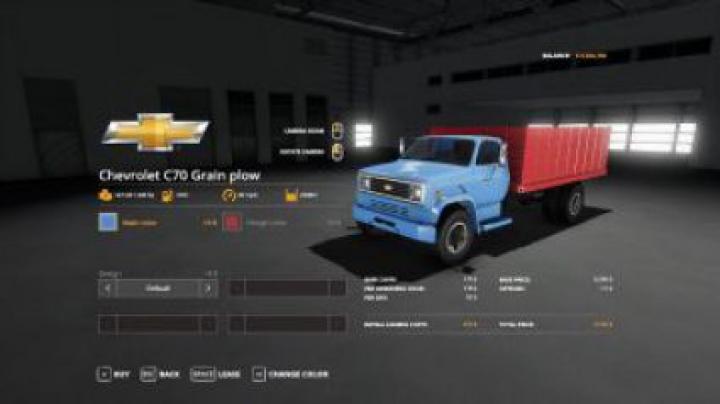 Trending mods today: FS19 Chevy C70 grain plow truck v1.0