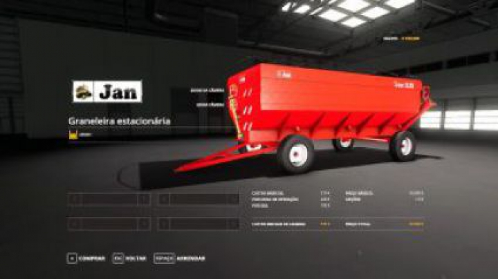 Trending mods today: FS19 Graneleira JAN v1.0.0.0