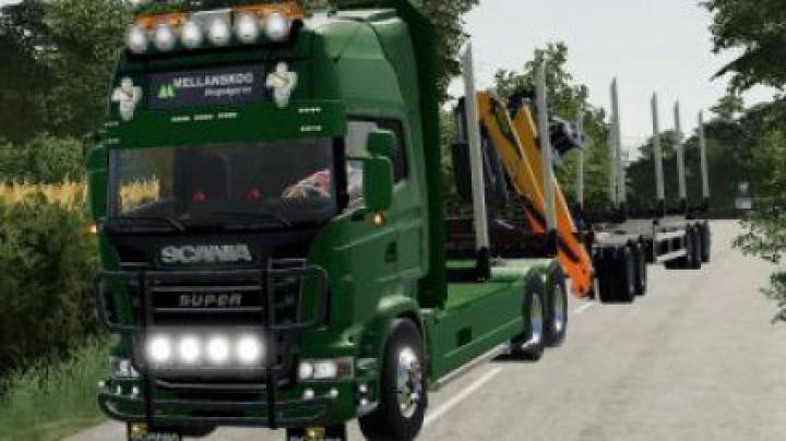 Trending mods today: FS19 Scania r730 log truck v1.0