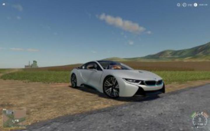 Trending mods today: FS19 BMW I8 Car v1.0