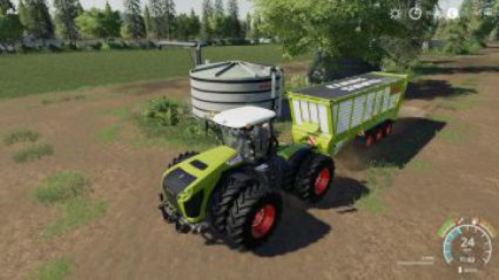 Trending mods today: FS19 Claas skinned TX560D Bulk Trailer