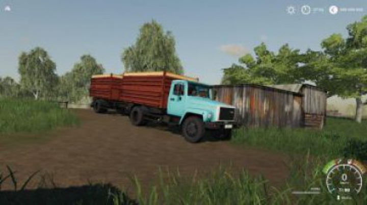 trucks FS19 Gaz 35071 and Saz 83173 v1.2.0