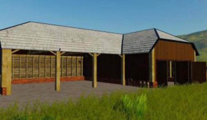 Trending mods today: FS19 Large Barn For Vehicles