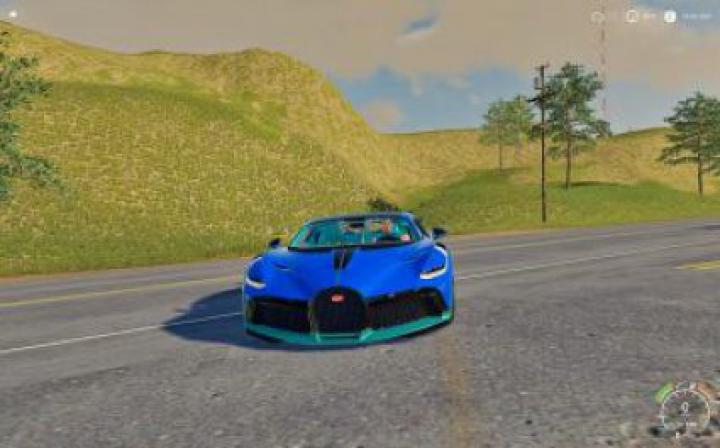 Trending mods today: FS19 Bugatti Divo v1.0