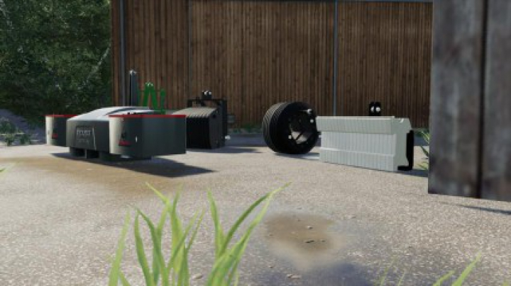 Implements & Tools Selfmade weight pack v1.0.0.0
