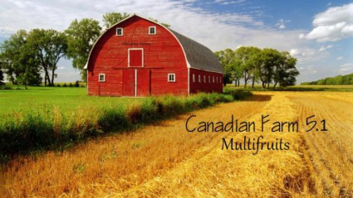 Trending mods today: Canadian Farm Map v5.1