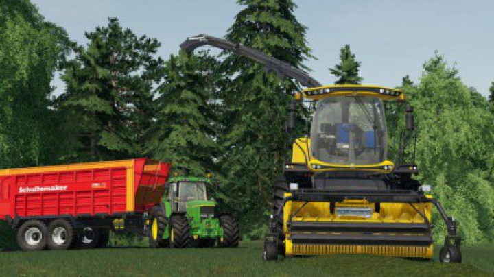 Trending mods today: New Holland FR 780 (manual pipe) v1.0.1