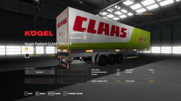 Trending mods today: FS19 CLAAS SERVICE KOGEL AUTOLOADER TRAILER v1.0