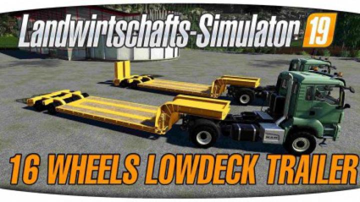 Trending mods today: 16Wheels Lowdeck Trailer v1.2.1.0