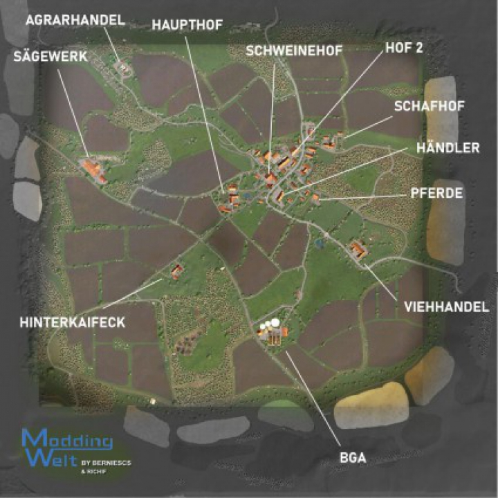 Maps HINTERKAIFECK MAP v1.0.0.0