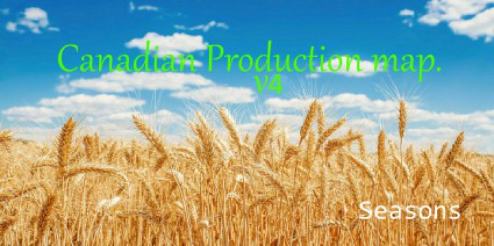 Trending mods today: Canadian Production map v4.0