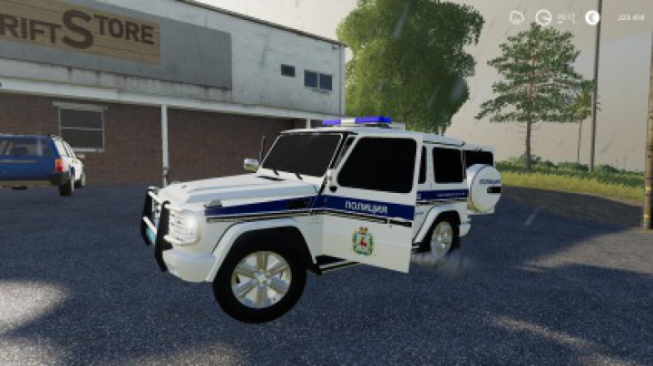 Trending mods today: Mercedes-Benz G55 AMG Police v1.0