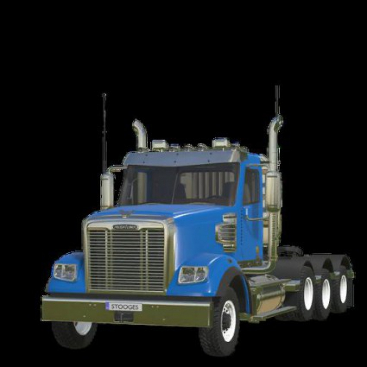 Trending mods today: FS19 FreightLiner 122SD v1.0