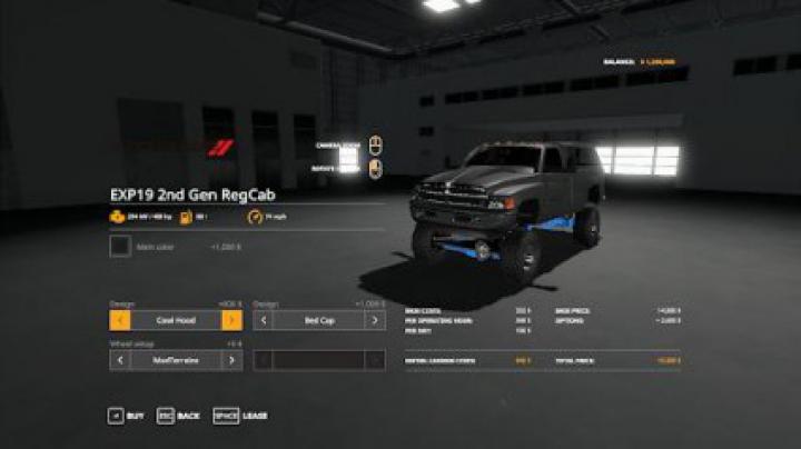 Trending mods today: Lifted 2nd Gen Dodge Ram 1500 v0.1