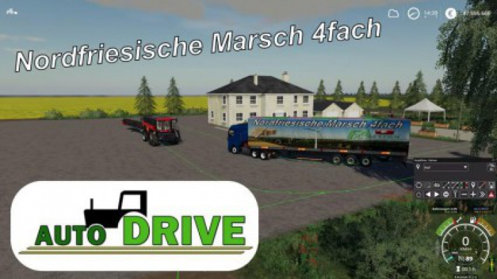 Trending mods today: AutoDrive route network NF March 4-way with trenches v1.1