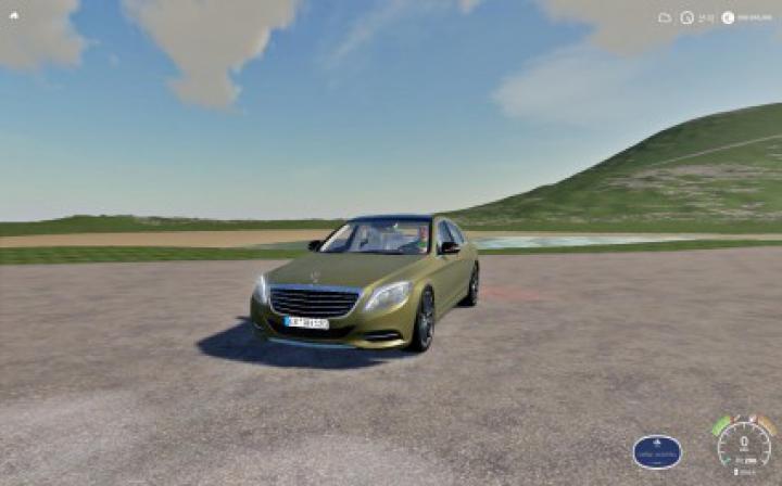 Trending mods today: Mercedes S63 FS19 v1.0