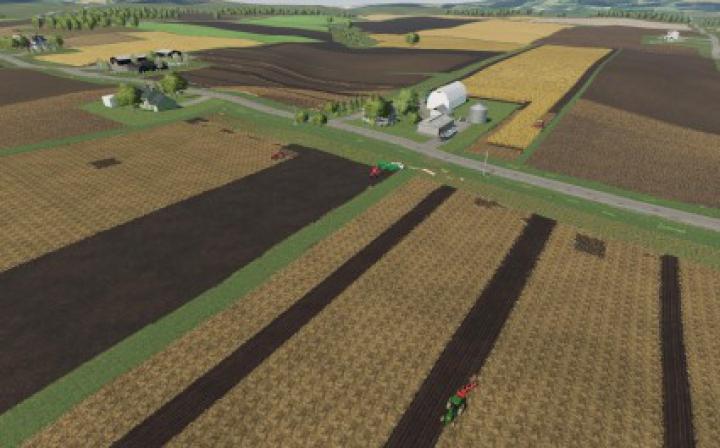 Maps Seneca County with corn drying v0.9