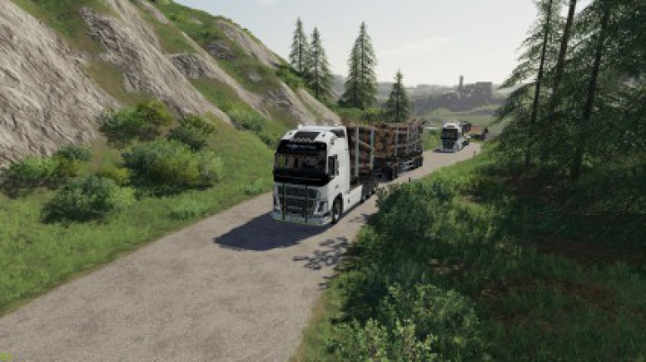 Trending mods today: Volvo Fh16 Woodchip and trailer v1.0.0.0