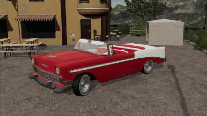 Trending mods today: Chevrolet Bel Air Convertible 1956 v1.0