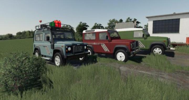 Trending mods today: Land Rover Defender Pack v1.0