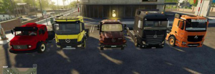 Trending mods today: Mods Pack - Mercedes Trucks Pack v1.0