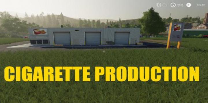 Trending mods today: CIGARETTE PRODUCTION v1.0