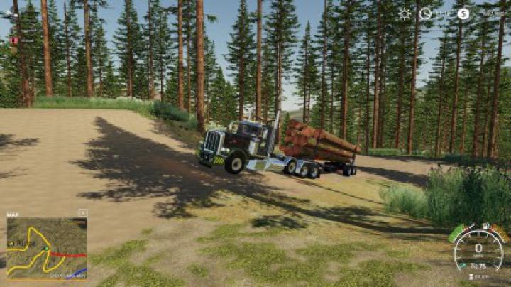 Trending mods today: Peterbilt 389 Pole Truck v1.0