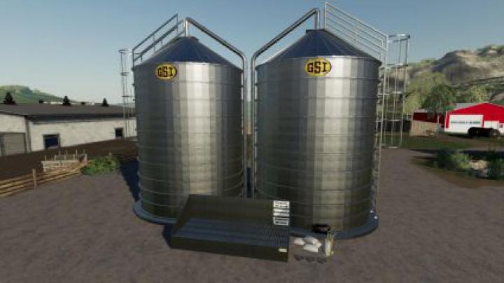 Trending mods today: Placeable GSI Grain Bins