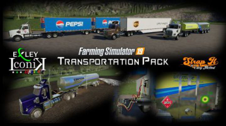 Trending mods today: Transportation Pack