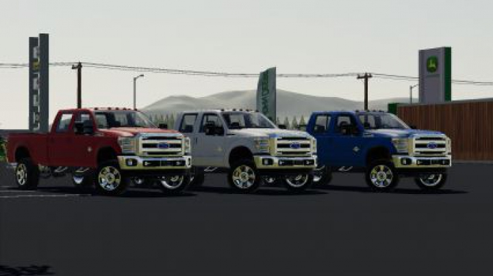 Trending mods today: 2011 Ford F350 Crewcab Edit