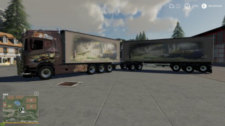 Trending mods today: Scaina Woodchips and trailer v1.1