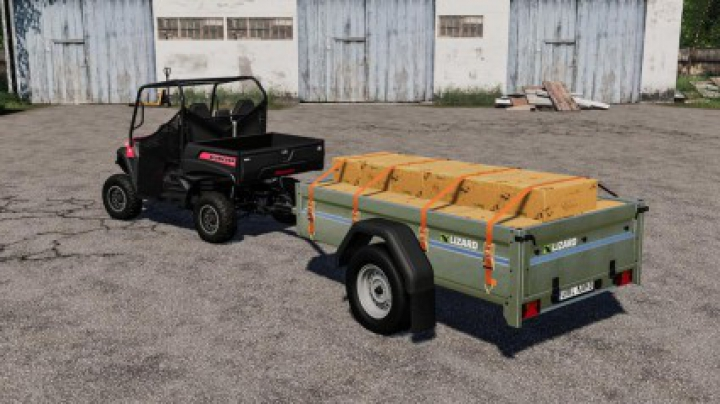 Trending mods today: Lizard Car Trailer v1.0.0.0