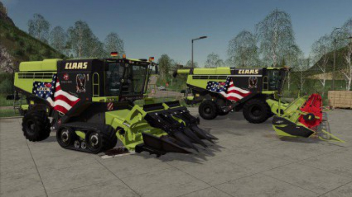 Trending mods today: Claas Lexion 795 Limited Edition v1.0