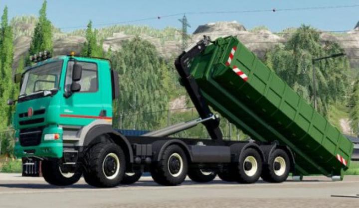 Trending mods today: Tatra Phoenix Agro-Truck Hooklift v1.0