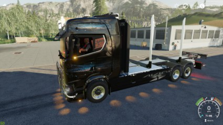 Trending mods today: Scania Avicii logtruck v1.0