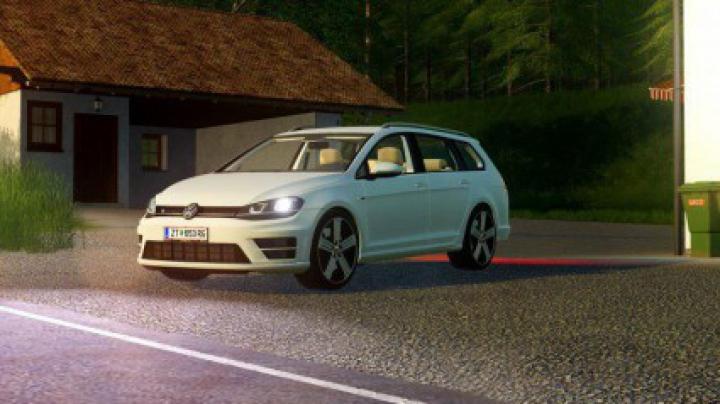 Trending mods today: Volkswagen Golf R Variant 2015 v1.7