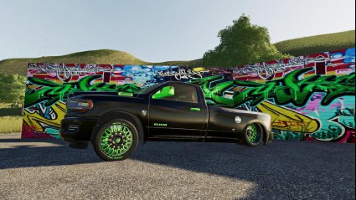Cars Dodge Ram Hell Truck v1.0