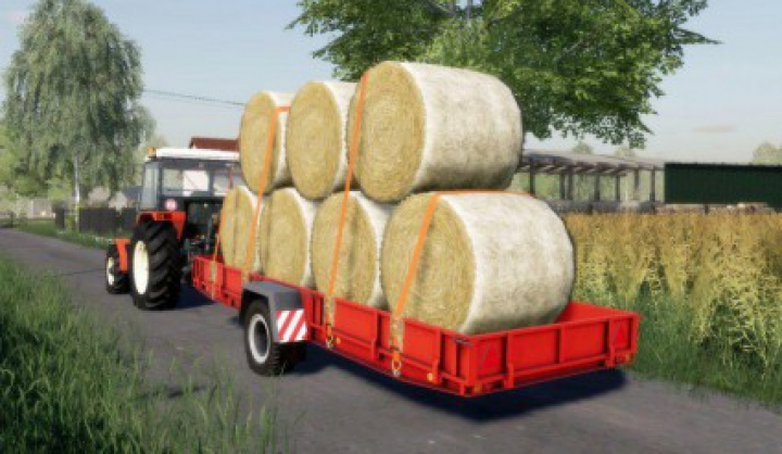 Trending mods today: NP-25 Autoload bale trailer v1.0.0.0
