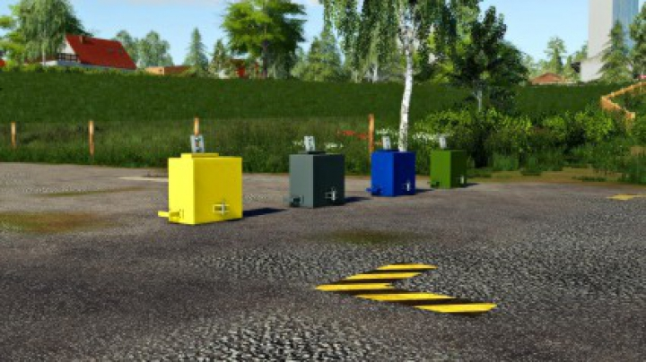 Trending mods today: Selfmade Weight 500KG v1.0.0.0