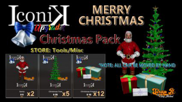 Trending mods today: Iconik Christmas Pack