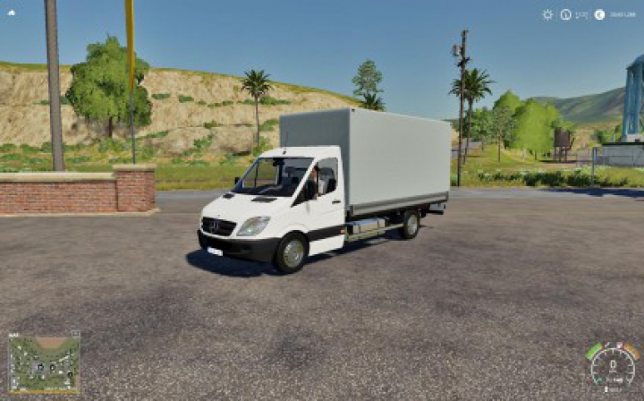 Trending mods today: Mercedes Sprinter Pickup FS19 v1.0