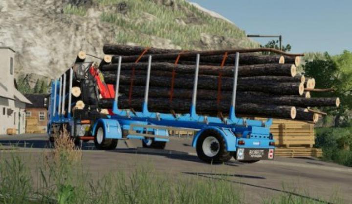 Trending mods today: Biobeltz Turntable Timber trailer v1.0.0.0