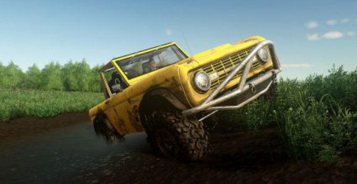 Trending mods today: EXP19 FORD BRONCO'66 CRAWLER V1.0