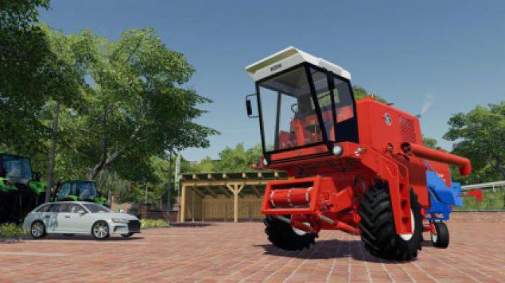 Trending mods today: FS19 Bizon Super Z056 v1.1