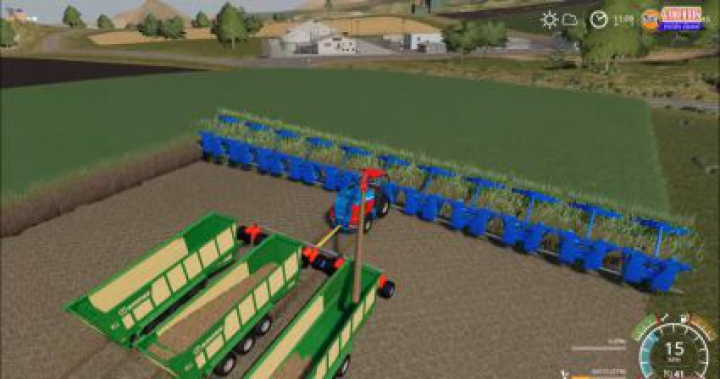 Trending mods today: KRONE BIGX +50M CRAZY SUGARCANE HARVESTER AND CUTTER V1.0