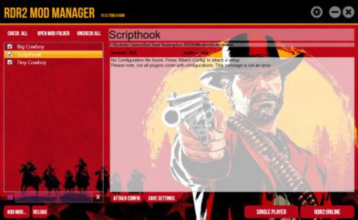 Trending mods today: RDR2 Mod Manager