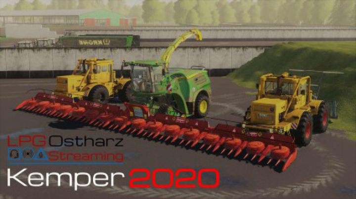 Trending mods today: K700 / Matching JD Chipper / Kemper 2020 Pack v1.0