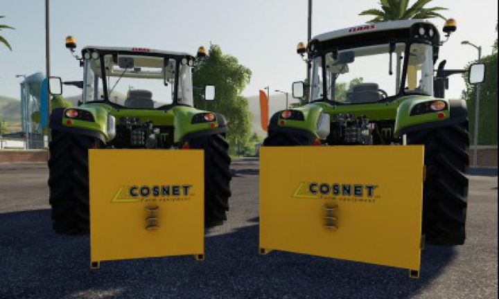Implements & Tools Cosnet Weight Pack v1.0